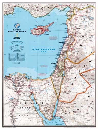 Mittelmeer Karte.Mittelmeer Karte Osten Oder Landkarte Mittelmeer Osten