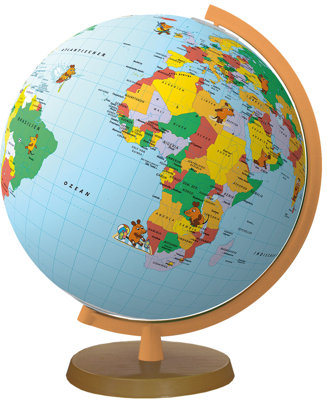 Continent worldmap 3d globe powerpoint earth question symbol earth shaped map gumiabroncs Image collections