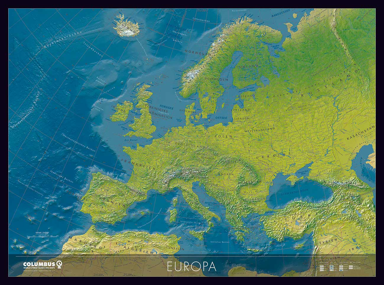 Europa Karte Physisch.Europa Karte Oder Europa Karte Oder Europa Landkarte
