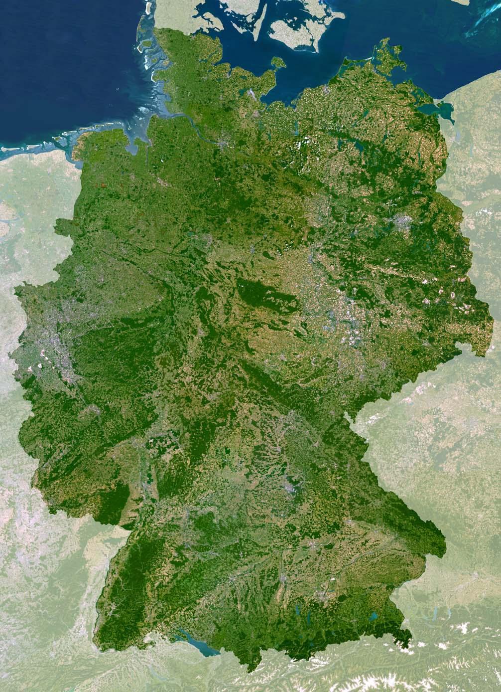 landkarte deutschland satellit Deutschlandkarte oder Deutschland Karte oder Deutschland Karte